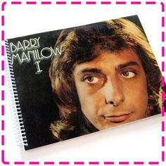 BARRY MANILOW I (Debut Album) Recycled / Upcycled Record Album Cover Journal Notebook - Eco Friendly - Vintage Circa 1975- on Etsy, $12.95
