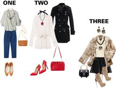 """which outfit."" by glittercupcake on Polyvore"