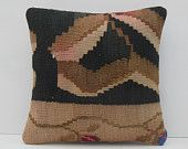 black pillow cover brown cushion cover knitted throws nautical pillows throw pillows for couch large cushion covers earthy kilim pillow case