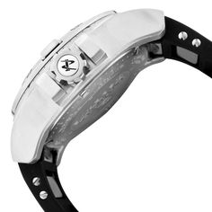 Image for Men's Reserve Black Dial Black Polyurethane from World of Watches