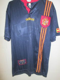 Spain-1996-1997-Away-Football-Shirt-Size-Medium-9689