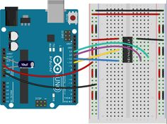 Programming an Attiny84 or Attiny44 with Arduino Uno