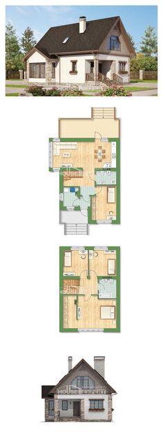 Ev villa projesi 140-002-L | House Expert