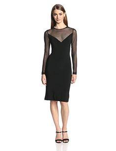 KAMALIKULTURE Women's V Insert Illusion Combo Dress, Black, X-Small KAMALIKULTURE http://www.amazon.com/dp/B00JJVXCFQ/ref=cm_sw_r_pi_dp_YPvEub0ZA2G5C