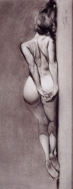 Contemporary figurative artist Steve Huston,