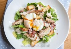 Salad Bar, Cobb Salad, Bacon, Potato Salad, A Food, Low Carb, Favorite Recipes, Lunch, Cooking