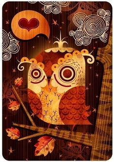 The Enamored Owl - Alberto Cerriteno