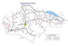karakoçan haritası