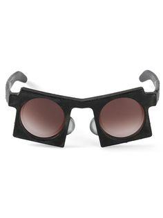 Kuboraum 'Mask Burnt U5' sunglasses