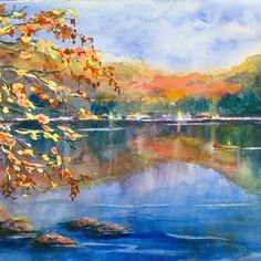 This board will teach you how to create a beautiful watercolor landscape with the help of art experts. You'll get an overview on watercolors, and learn various techniques for applying them to get the maximum impact.