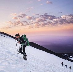 For some, the connection with nature is much more than walking its paths and climbing its hills. For some, it unlocks their freedom, their vitality, and their spirit.  @kristenmohror at Mt. Adams #likeamountaingirl