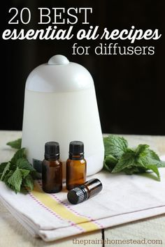 essential oil recipe