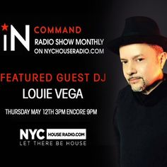 Happening Thursday May 12th!  IN:COMMAND RADIO SHOW with Special Guest: @louievega always a great two hour show with the @salivacommandos #tunein on NYCHOUSERADIO.COM or download your free apps for any device. #beincommand #louievega #salivacommandos #realhousemusic #nychouseradio #nyc #newyorkcity #instamusic #instagram #facebook #twitter #snapchat #picoftheday #ibiza2016 #italy #rimini #riccione #lisbon #greece #brooklyn #instafollow #instagram #instadaily #instaweb #vegarecords #milan…
