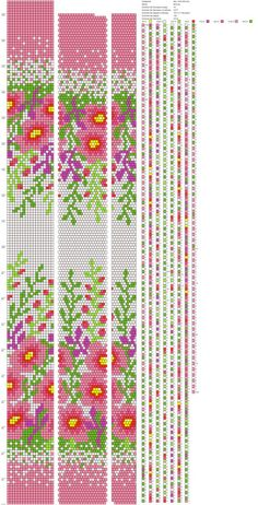 18 around bead crochet rope pattern Crochet Bracelet Pattern, Crochet Beaded Bracelets, Bead Crochet Patterns, Bead Crochet Rope, Beaded Bracelet Patterns, Peyote Patterns, Beading Patterns, Beaded Crochet, Collar Redondo