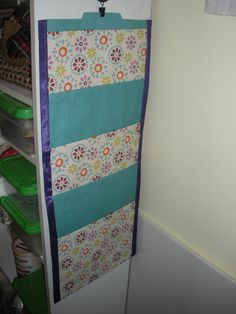 Hanging File Folders on Made It Monday Hanging File Organizer, Hanging File Folders, File Folder Organization, Paper Organization, Classroom Organization, Classroom Ideas, Paper Storage, Diy Storage, Scrapbook Paper Projects
