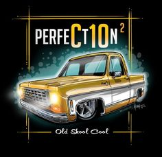 This unique car is my most desired vehicle. So brilliant F150 Truck, C10 Chevy Truck, Chevy Pickups, Ford Trucks, Pickup Trucks, Dibujos Pin Up, Monkey Garage, Big Cartel, Truck Art