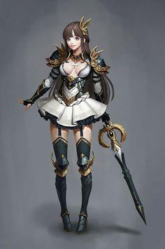 ArtStation - A gurl, 6 2 Fantasy Character Design, Character Concept, Character Inspiration, Character Art, Chica Fantasy, Fantasy Girl, Fantasy Team, Fantasy Armor, Medieval Fantasy