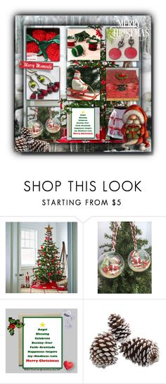 """Etsy Friends SpecialT Christmas Ideas"" by crr-team ❤ liked on Polyvore featuring interior, interiors, interior design, home, home decor, interior decorating and Martha Stewart"