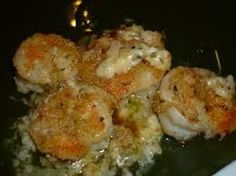 1 cup butter  1 small onion, small dice  5 cloves garlic, small dice  1/2 cup white wine  Salt & pepper to taste  3# clean raw shrimp  1 1/2...