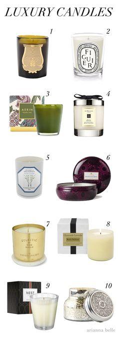 Chic Essentials: Luxury Candles