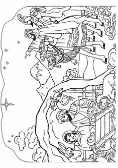 top 10 nativity coloring pages for your toddlers - Toddler Printable Coloring Pages