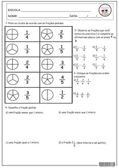 28 best fração images on pinterest fun math activities math word