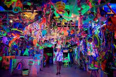 Kenny Scharf's Bushwick warehouse in New York