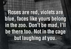 For all the two-faced people out there...