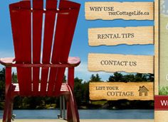 Web Design by Fusion Studios Inc. Web Design Company, Outdoor Chairs, Toronto, Studios, Cottage, Website, Life, Ideas, Style