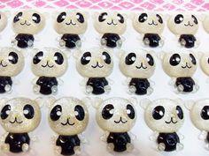 8x Cute Panda Cabochons by CuteCornwall on Etsy, £2.00