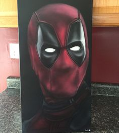 22ddcfd6a1c  deadpool airbrushed by PoDo Air Brush Painting