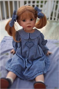 Gianna, doll by Elizabeth Lindner