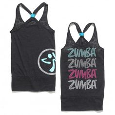 My fav Zumba tank of all time! Goes with everything (well doesn't all Zumba wear go with everything?!)