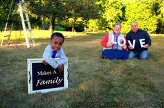 It's a Roller-Coaster Life: LOVE...{Makes a Family} #childphotography #familyphotography