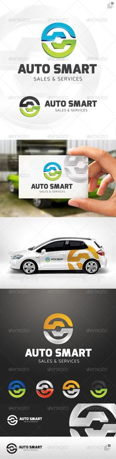 Auto Smart Logo — Vector EPS #service #sales • Available here → https://graphicriver.net/item/auto-smart-logo/4549619?ref=pxcr