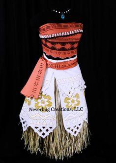 Custom Adult Moana Costume