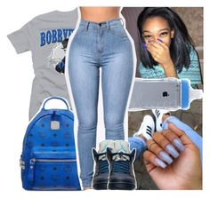 """""""just got my phone taken"""" by daeethakidd ❤ liked on Polyvore featuring MCM and Retrò"""