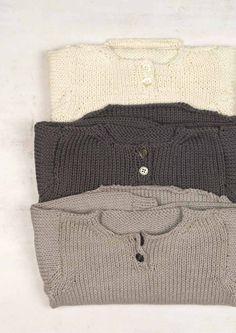 3c212a3e860a Free Pattern Phildar Nuage Baby Shawl Collar Cardigan