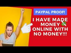 How I Start To Making Money Online with NO MONEY | LIVE Paypal Proof - YouTube Way To Make Money, Make Money Online, How To Make, Get Free Iphone, Life Changing Quotes, Free Advertising, Let's Create, Positive Words, Extra Money