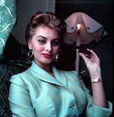 Sophia Loren by Edward Quinn