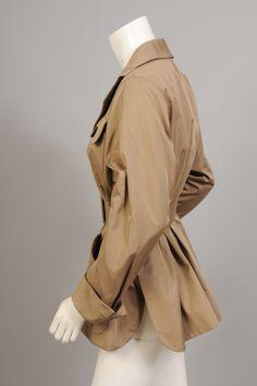Rare Yves Saint Laurent Haute Couture Safari Jacket For Sale at 1stdibs