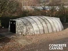 DIY Super Structures - The Concrete Canvas Shelter Can Withstand Any Camping Trip (VIDEO)