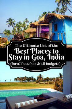 Goa has hotels to suit all budgets and types of travellers. Here are my recommendations for the best places to stay in Goa after living here for 3 years. Travel Destinations In India, Goa Travel, India Travel Guide, Paris Travel, Mexico Travel, Holiday Destinations, Budget Travel, Ireland Vacation, Ireland Travel