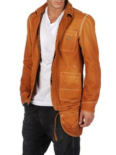 never liked the Diesel Tool Belt but this jacket by itself GREAT!! very rugged and manly