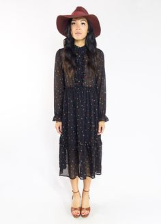 Poppy Frill Dress