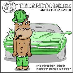Besuch doch mal unsere Webseite. 😊 Liebe Grüße von Ted & Toro 🐻🐮🎩  #Schule #Studium #BWL #Aktien #Börse #Zeichnung
