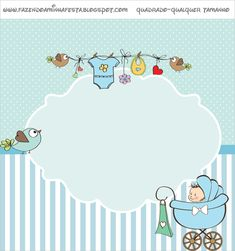 Baby in Light Blue: Free Printable Candy Bar Label. The Babys, Baby Invitations, Baby Shower Invitations For Boys, Baby Boy Background, Scrapbook Bebe, Baby Boy Decorations, Candy Bar Labels, Baby Boy Cards, Baby Shower Invitaciones