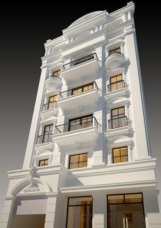 Ideas House Exterior Classic Building For 2019 Neoclassical Architecture, Classic Architecture, Modern Architecture House, Facade Architecture, Modern Buildings, Classic House Exterior, Classic House Design, Dream House Exterior, House Outside Design