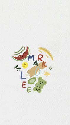 Mark Lee, K Wallpaper, Pattern Wallpaper, Nct Dream Members, Dibujos Cute, Cute Cartoon Wallpapers, Cartoon Art Styles, Kpop Fanart, Taeyong