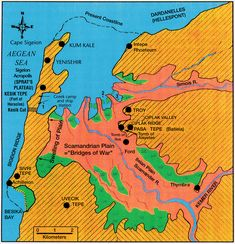"""Lost Troy--Geology corresponds with Homer's description of ancient Troy       March 3, 2003--Combining an interest in the classics with expertise in the sedimentary geology that defines coastlines, a University of Delaware researcher has discovered that Homer's """"Iliad"""" presents an accurate account of the geography of ancient Troy."""